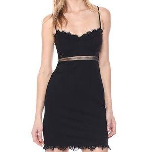 Astr Dresses - ASTR the Label sexy mini Club dress black bodycon